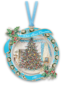 Front of Christmas Ornament