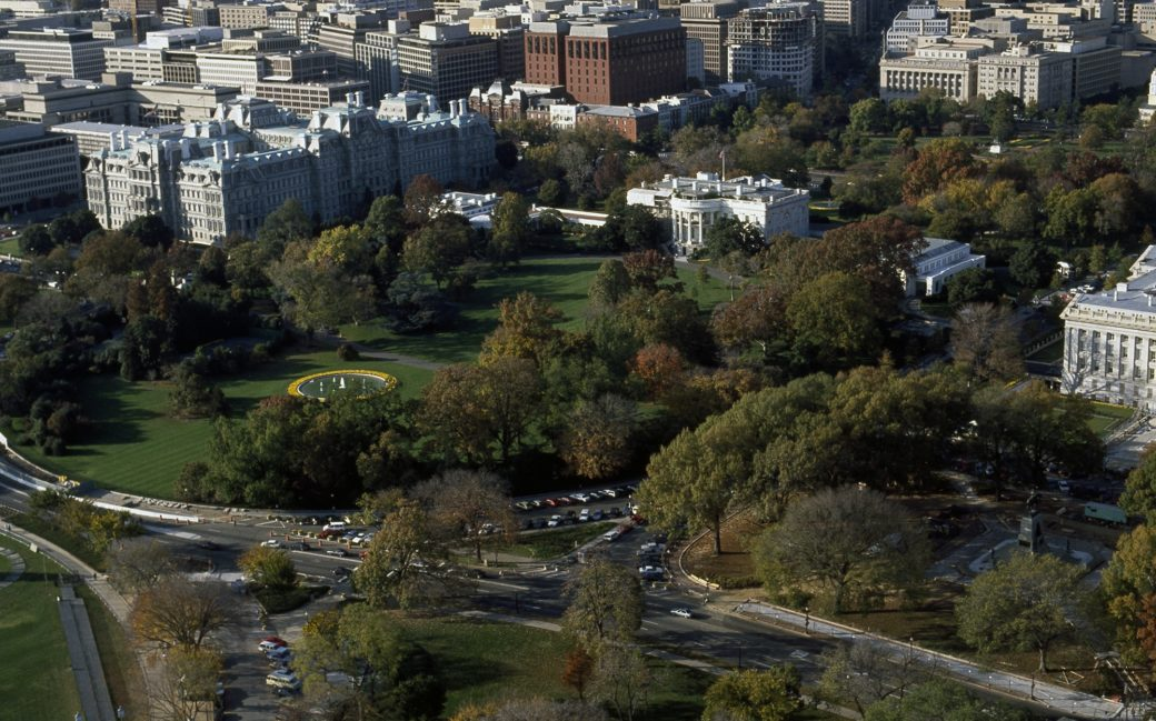 Amazing Aerial View Of The White House On A Fall Day White House Download Free Architecture Designs Scobabritishbridgeorg