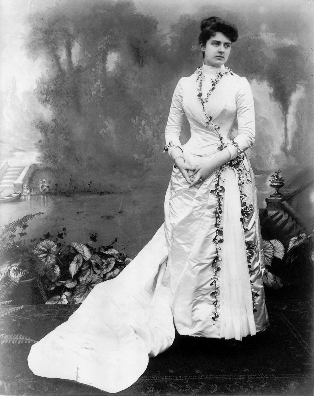 Frances Folsom Cleveland S White House Wardrobe White