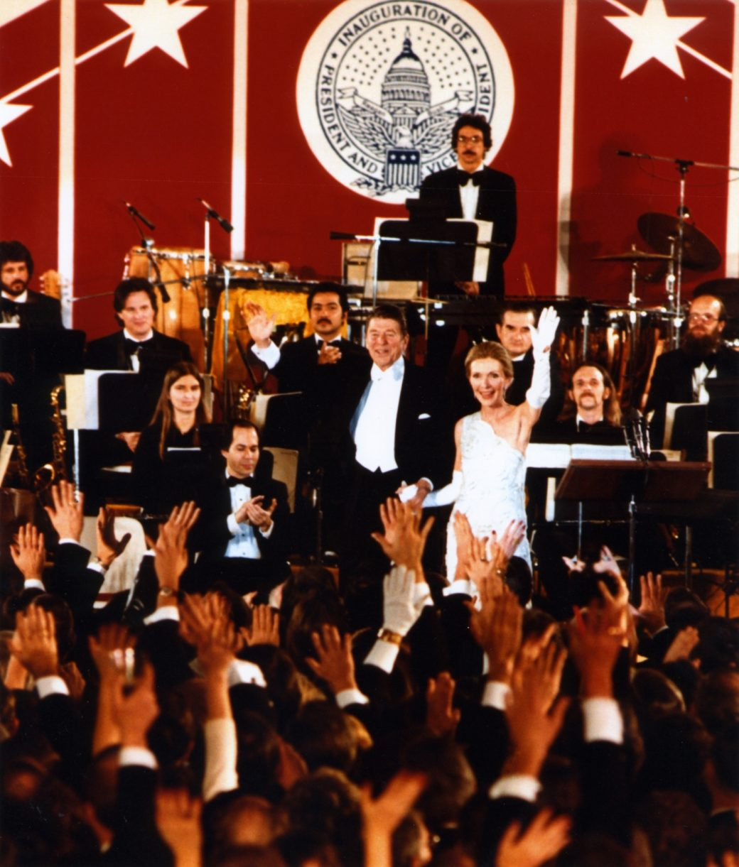 Ronald Reagan Inauguration 1985