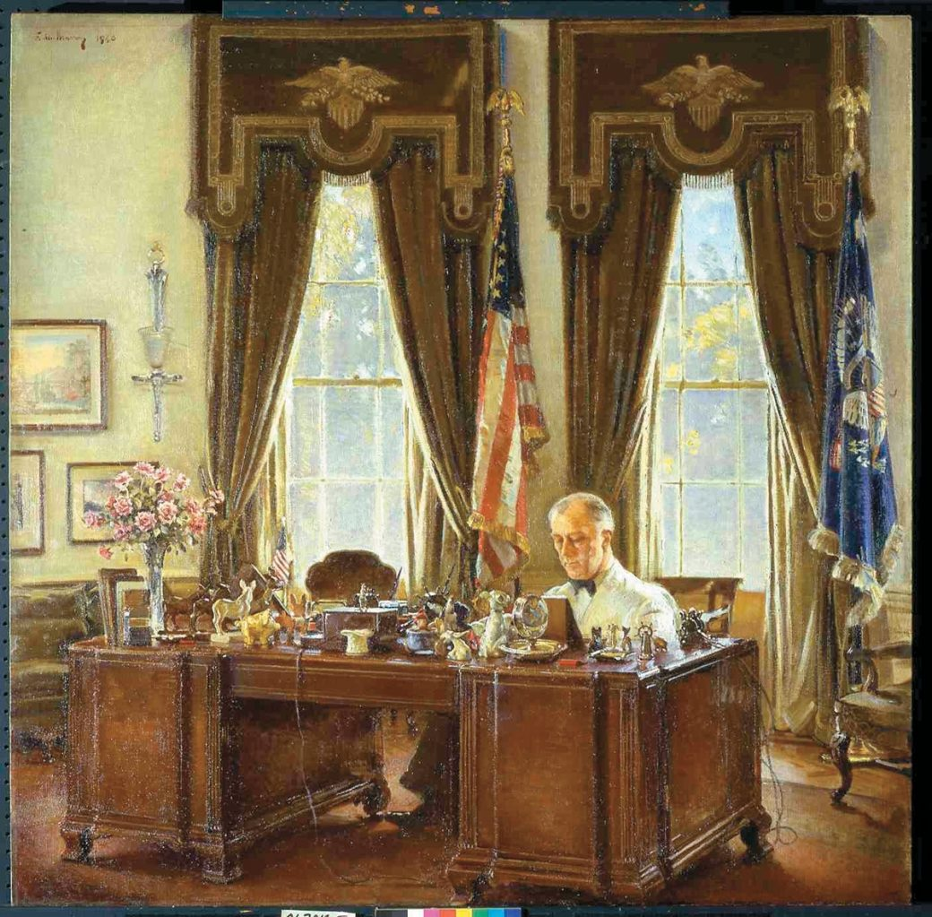 Image result for fdr's oval office