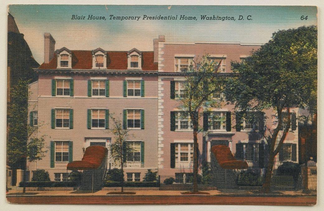 Postcard of Blair House - White House Historical Association