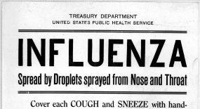 Spanish Influenza in the President's Neighborhood