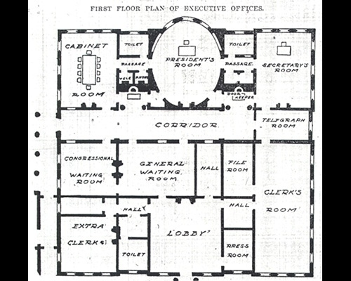 Executive Offices Expansion Plan - White House Historical ...