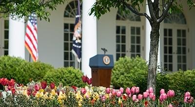 The Kennedy Rose Garden White House Historical Association